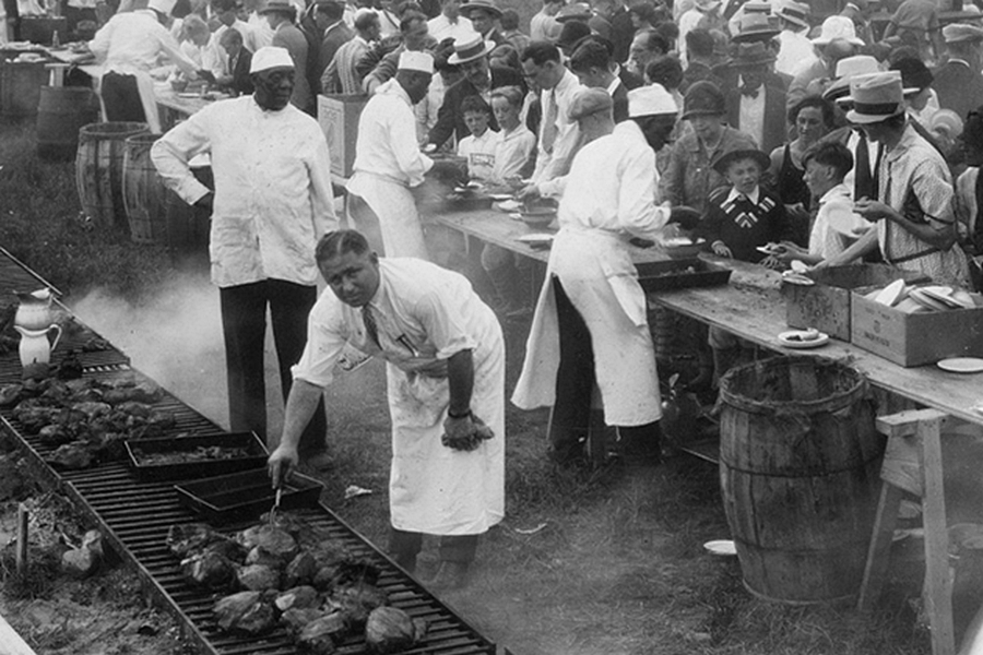 BBQ-zgodovina-amerika-smokers-history